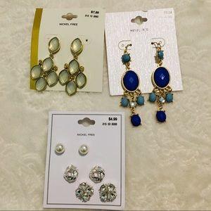 Jewelry - LOT FASHION EARRINGS!